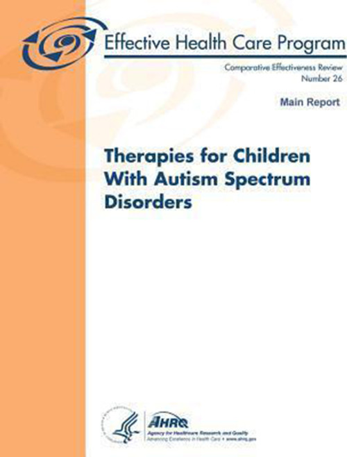 Therapies for Children With Autism Spectrum Disorders: Main Report: Comparative Effectiveness Review Number 26