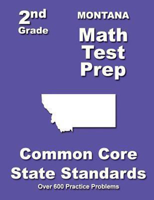 Montana 2nd Grade Math Test Prep: Common Core State Standards