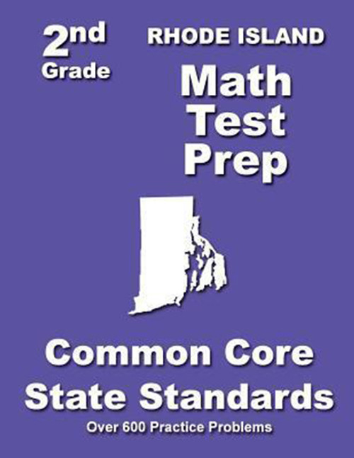 Rhode Island 2nd Grade Math Test Prep: Common Core State Standards