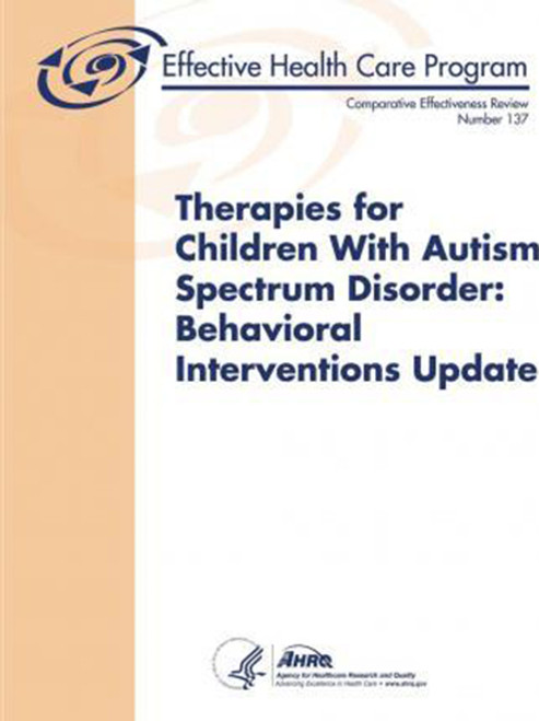 Therapies for Children With Autism Spectrum Disorder: Behavioral Interventions Update