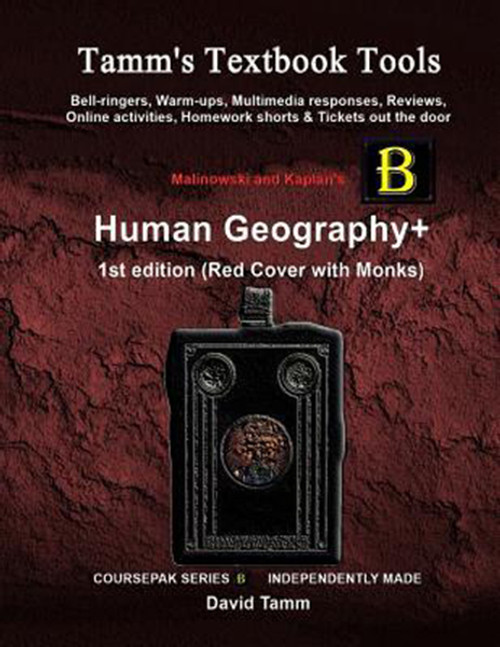 Malinowski's Human Geography 1st edition+ Activities Bundle: Bell-ringers, warm-ups, multimedia responses & online activities