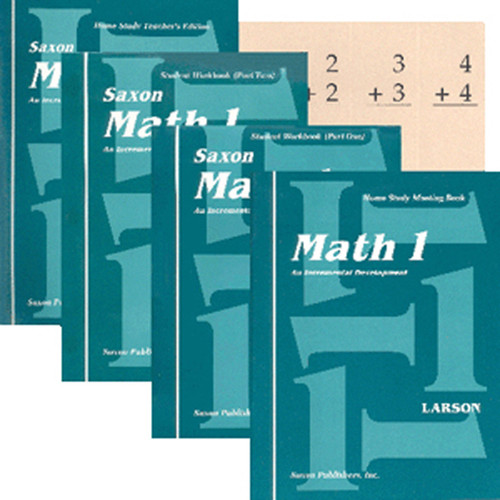 Saxon Math 1 Homeschool Curriculum Kit