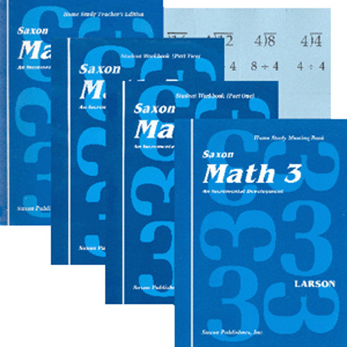 Saxon Math 3 Homeschool Curriculum Kit