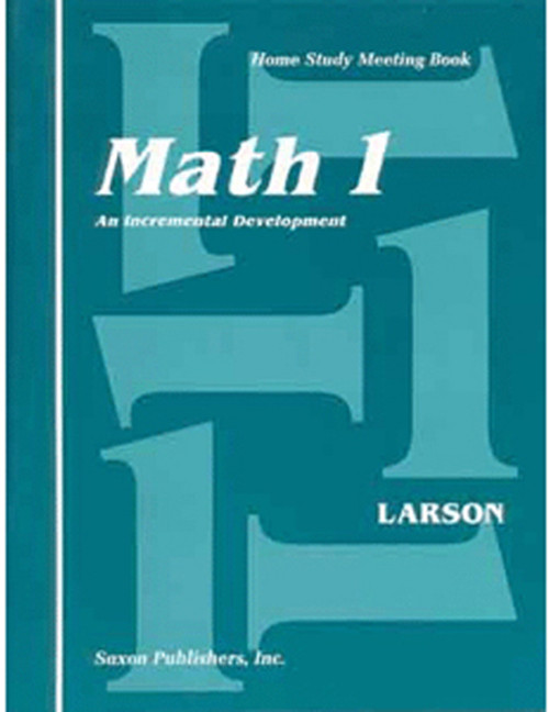 Saxon Math 1 Meeting Book