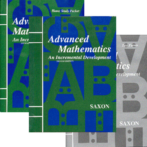 Saxon Advanced Math 2nd Edition Homeschool Curriculum Kit