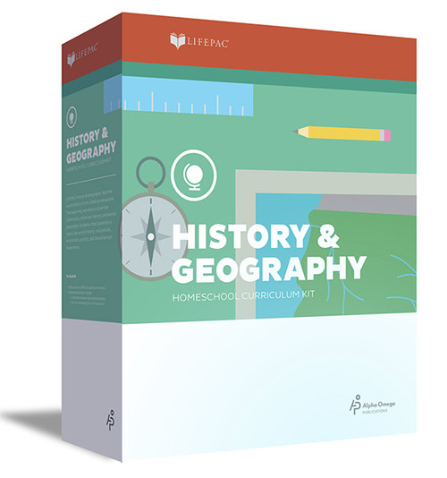 LIFEPAC History & Geography Homeschool Curriculum Set 4th Grade