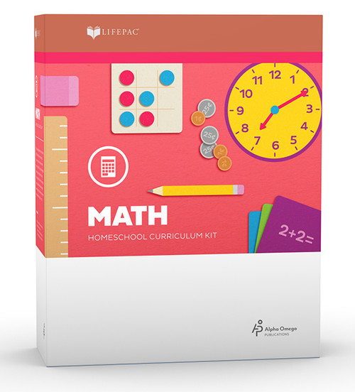 LIFEPAC Math Homeschool Curriculum Set 2nd Grade