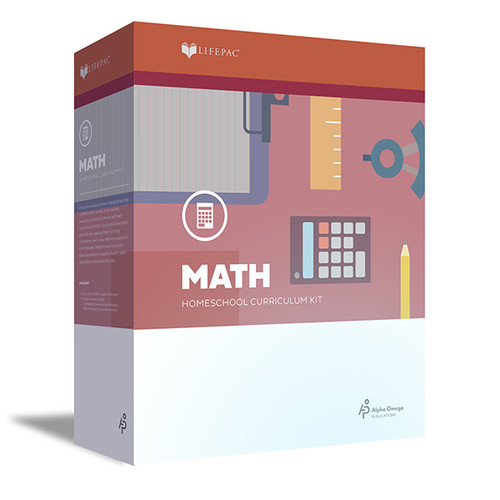 LIFEPAC Math Homeschool Curriculum Set 3rd Grade