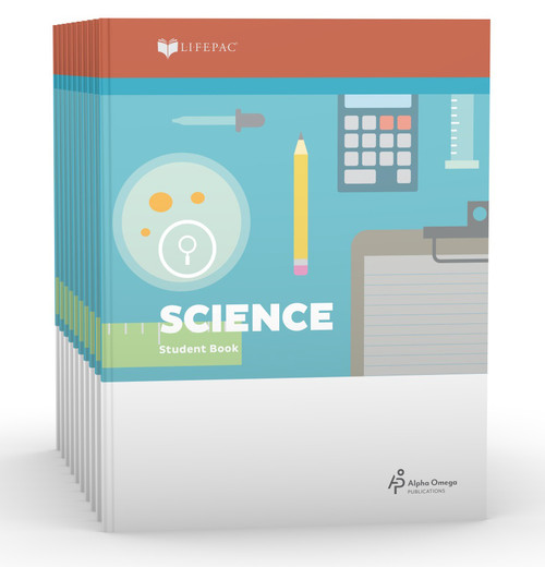 LIFEPAC Science Set of 10 Student Books 5th Grade