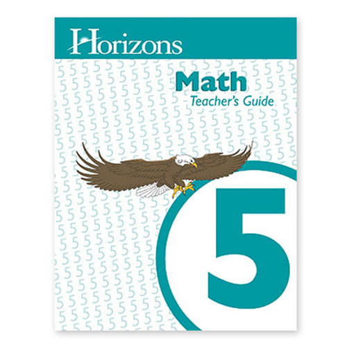 Horizons Math Teachers Guide 5th Grade