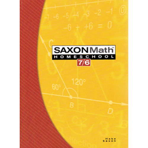 Saxon Math 76 4th Edition Student Textbook