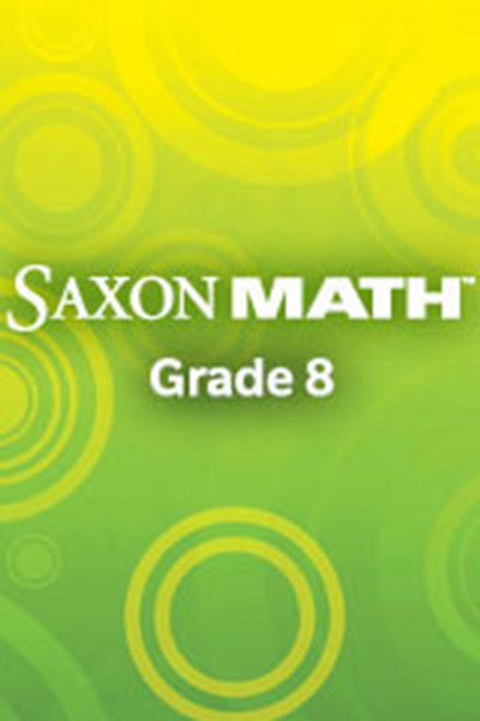 Saxon Math Course 3, Spanish Reteaching Masters 8th Grade