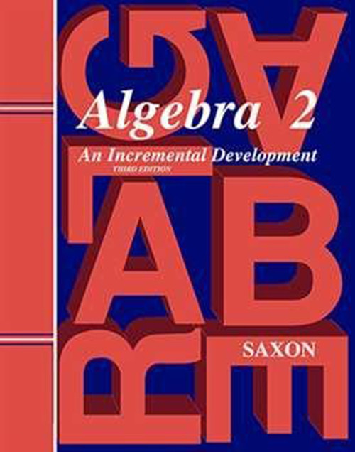 Saxon Algebra 2 Homeschool Kit with Solutions 3rd Edition