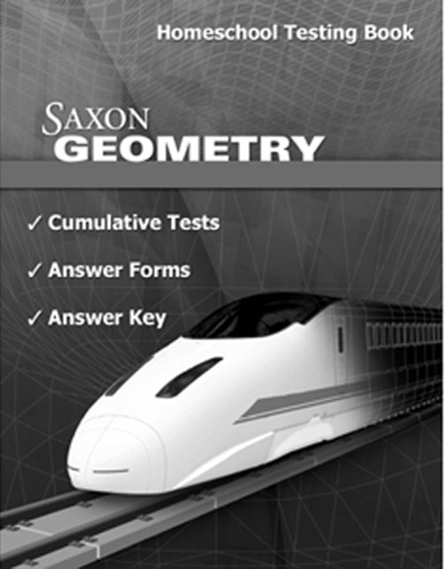Saxon Geometry Tests and Answer Key Book