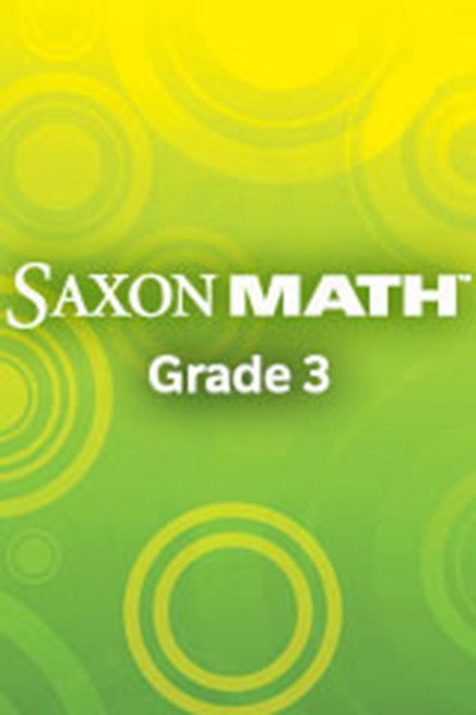 Saxon Math 3 Spanish Spanish Teacher Materials