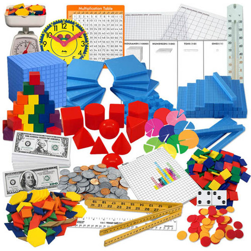 Saxon Math Intermediate Classroom Manipulatives Kit Grades 3-5