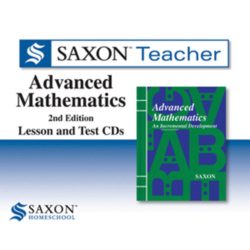 Saxon Advanced Math Homeschool Teacher Software
