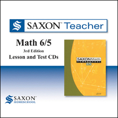 Saxon Math 65 Homeschool Teacher Software