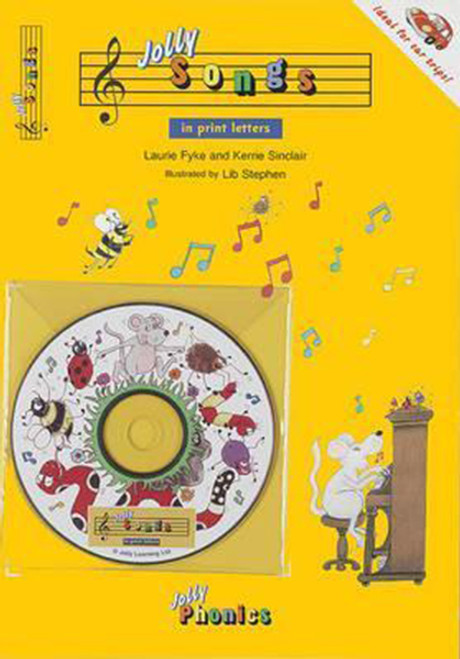 Jolly Songs: Book & CD in Print Letters (American English Edition)