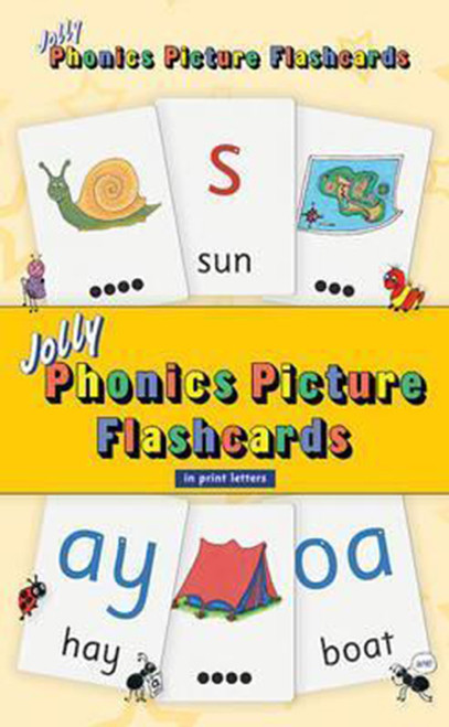 Jolly Phonics Picture Flash Cards: In Print Letters