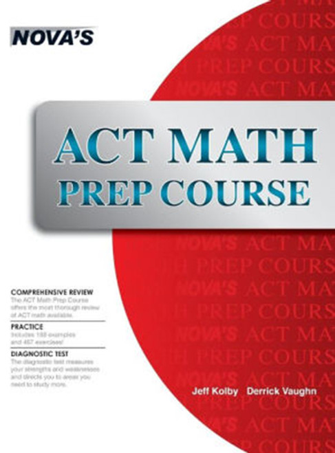 ACT Math Prep Course, Hardcover