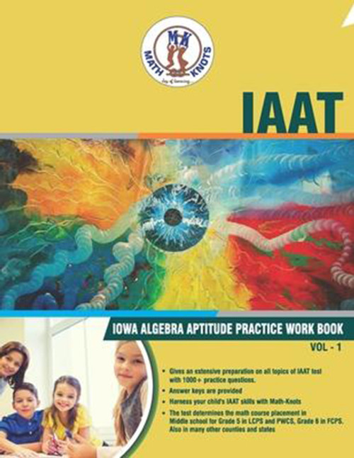 IAAT (IOWA Algebra Aptitude) Workbook - Volume 1