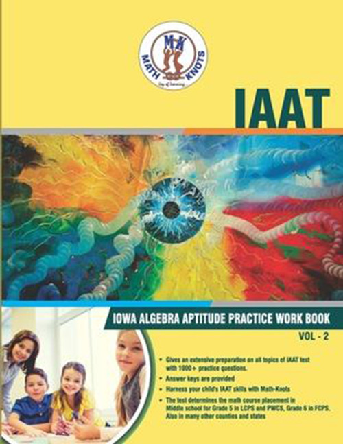 IAAT (IOWA Algebra Aptitude) Workbook - Volume 2