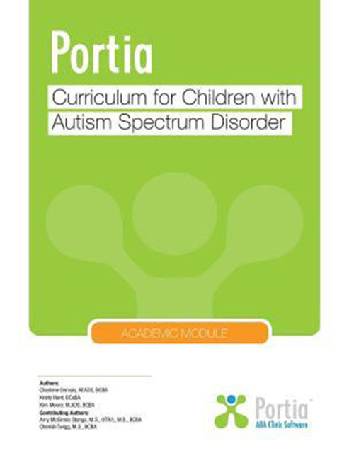 Portia: Curriculum for children with Autism Spectrum Disorder - Academic Module