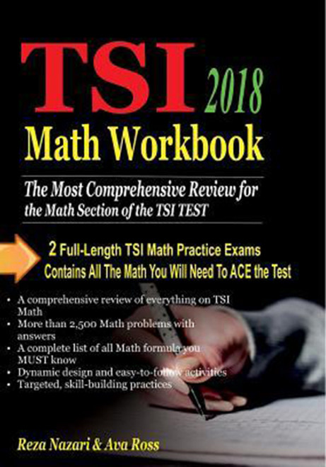 TSI Math Workbook 2018: Comprehensive Activities for Mastering Essential Math Skills