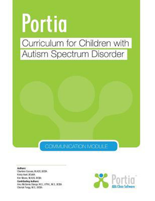 Portia: Curriculum for children with Autism Spectrum Disorder, Communication Module