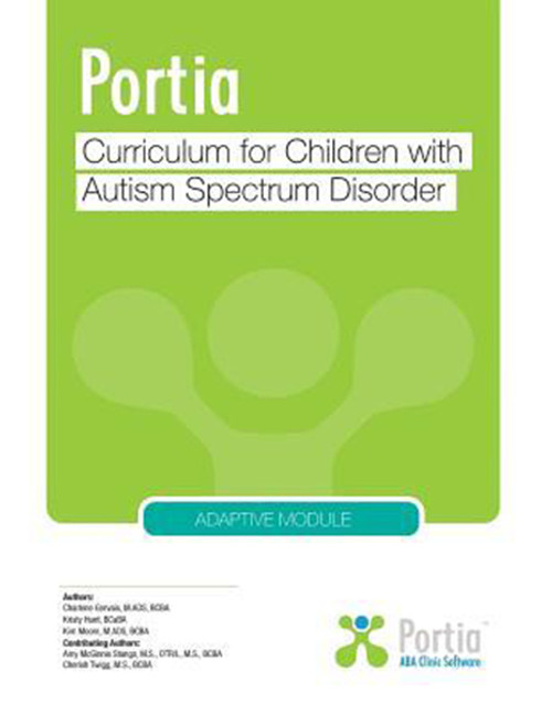 Portia: Curriculum for Children with Autism Spectrum Disorder - Adaptive Module