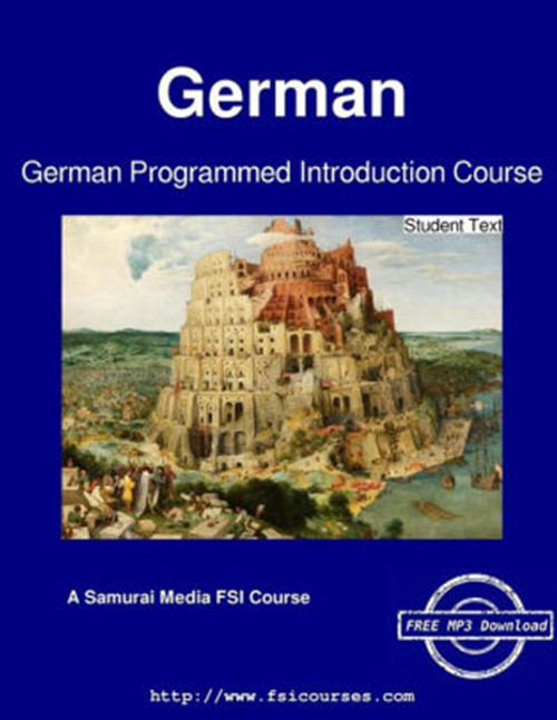 German Programmed Introduction Course - Student Text