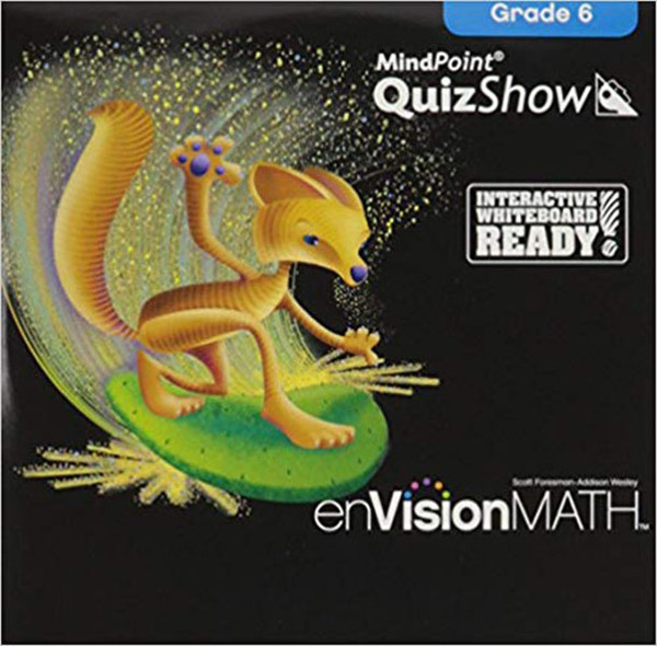 Envision Math 2011 Quizshow CD 6th Grade
