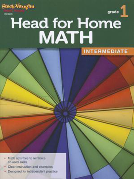 Head for Home Math Intermediate Workbook Grade 1