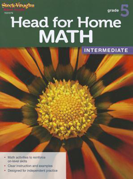 Head for Home Math Intermediate Workbook Grade 5