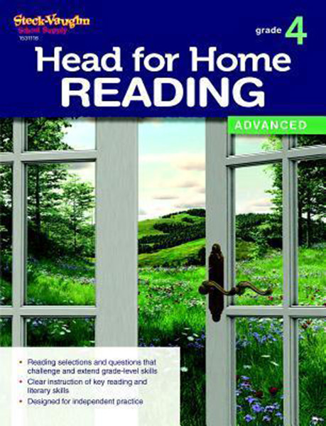 Head for Home Reading Advanced Workbook Grade 4