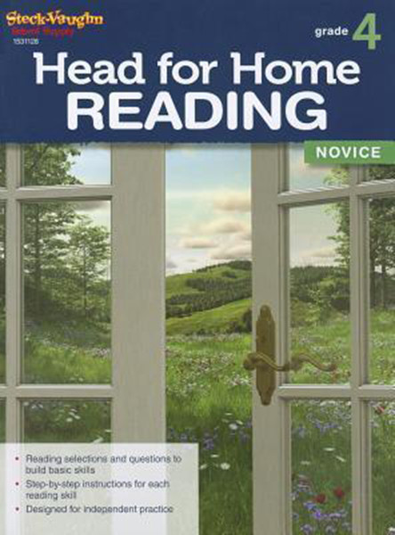 Head for Home Reading Novice Workbook Grade 4