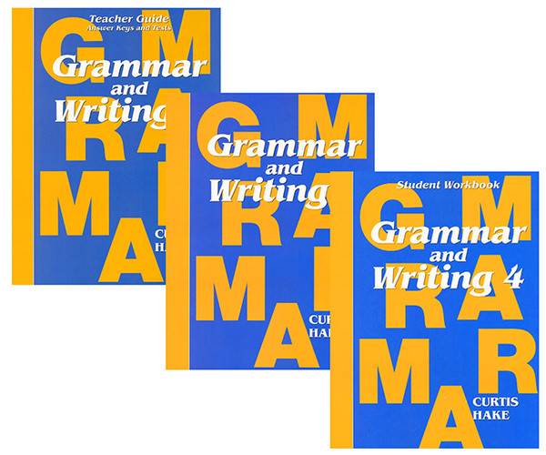 Saxon Grammar and Writing 4 Homeschool Curriculum Kit 1st Edition
