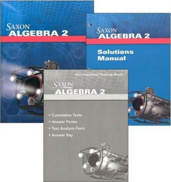 Saxon Algebra 2 Homeschool Package 4th Edition