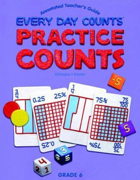 Great Source Every Day Counts: Practice Counts Workbook Grade 6 Second Edition