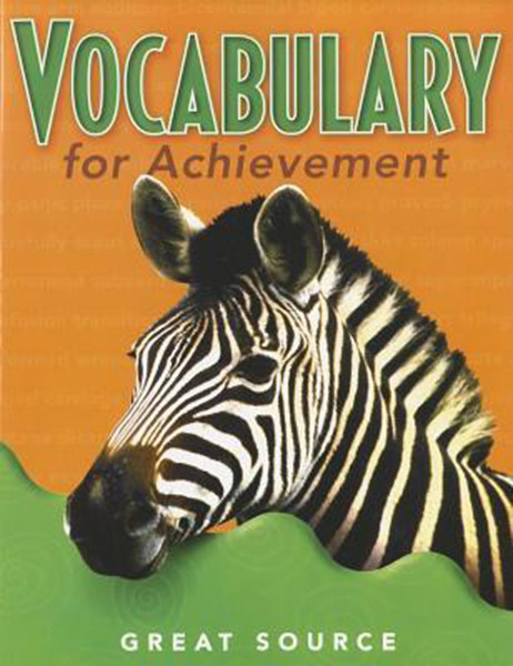 Great Source Vocabulary for Achievement Student 5th Grade