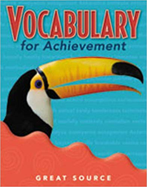 Great Source Vocabulary for Achievement Teacher Edition 4th Grade