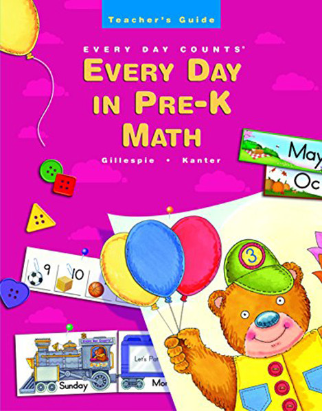 Great Source Every Day Counts in Pre-K Teacher Guide Grade Pre-K