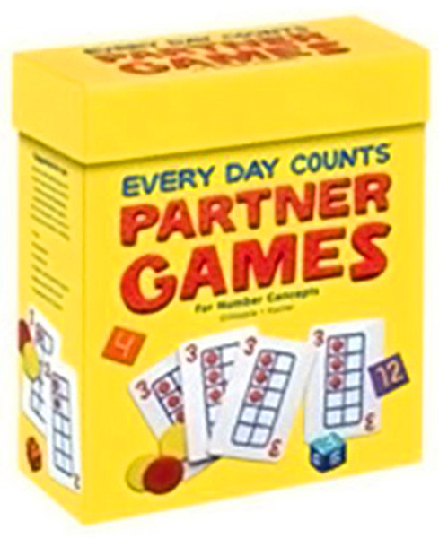 Great Source Every Day Counts Partner Games Kit Kindergarten
