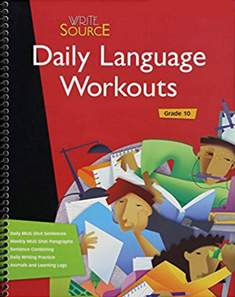 Write Source Daily Language Workout 10th Grade