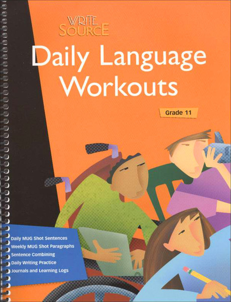Write Source Daily Language Workout 11th Grade