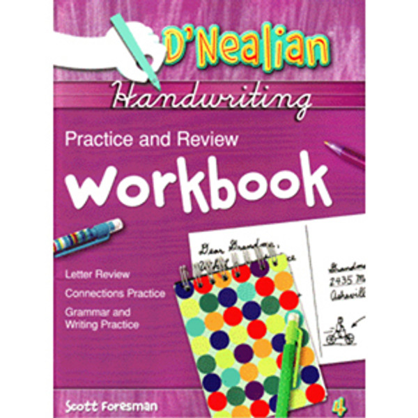 DNealian Do It Yourself Practice Book 4th Grade