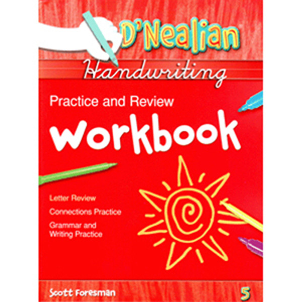 DNealian Do It Yourself Practice Book 5th Grade