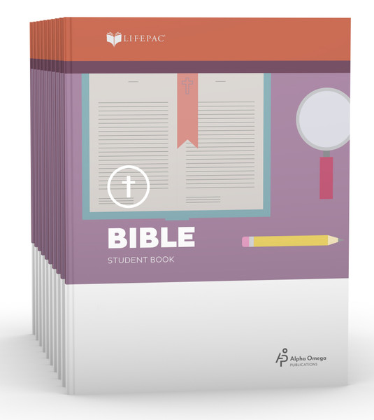 LIFEPAC Bible Student Books 4th Grade