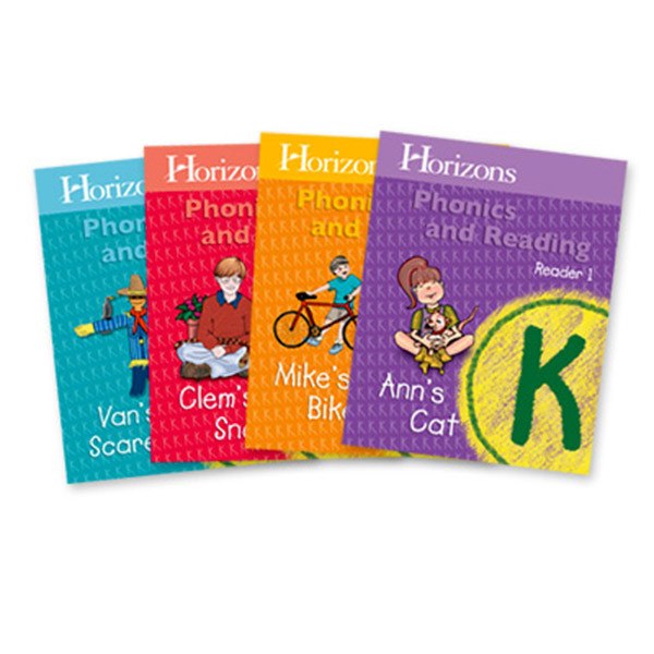 Horizons Phonics & Reading Student Reader Set Kindergarten